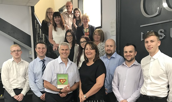 Coversure Ilkeston Wins 'Franchise of the Year Award'